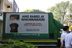 World Rabies Day 2014 - Marikina City Roving Billboard