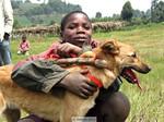 Uganda - Boy with Dog