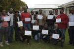 REC Training Graduates - Lesotho