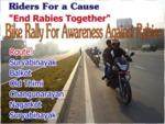 World Rabies Day 2015 - Nepal Bike Rally